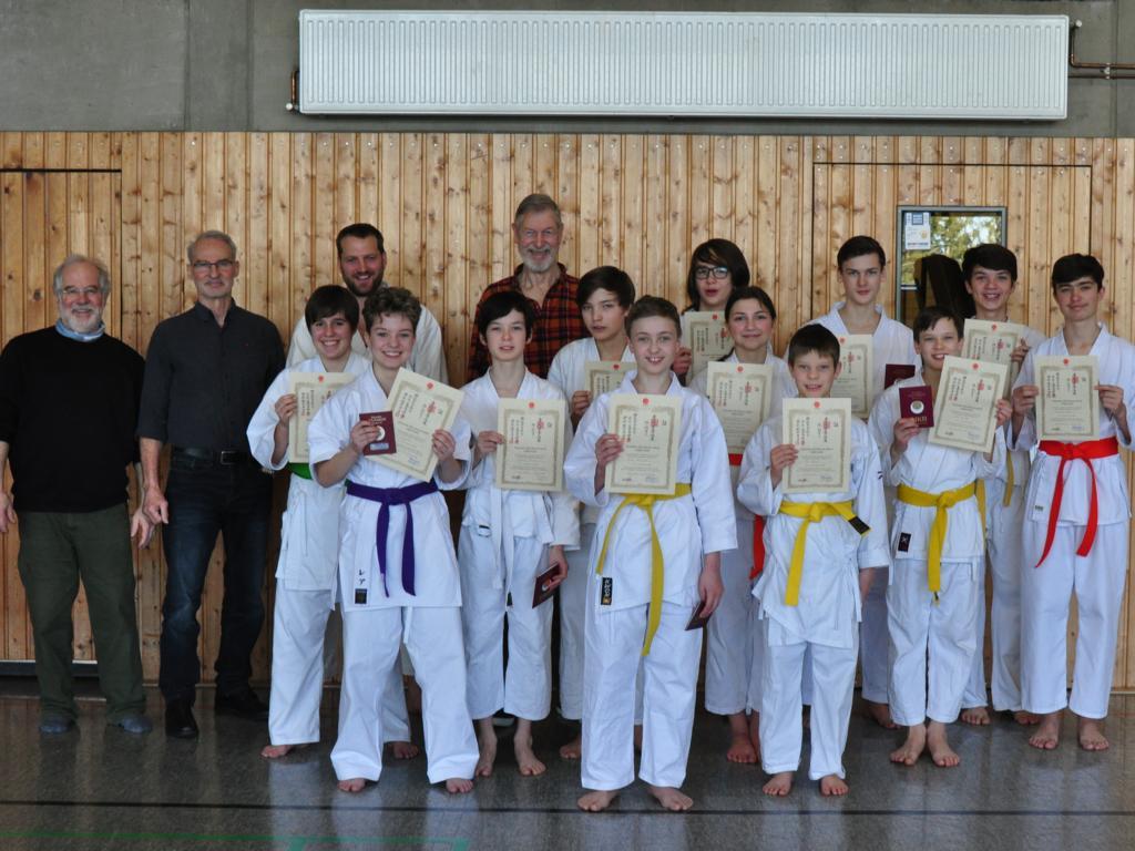 Karateprüfung