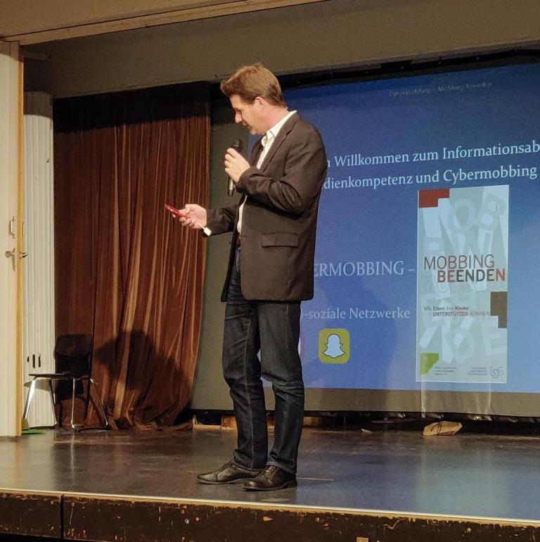 Vortrag zur Prävention von Cybermobbing